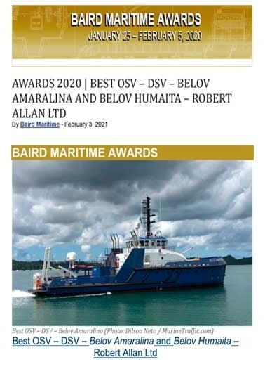 Baird Maritime - February 3, 2021