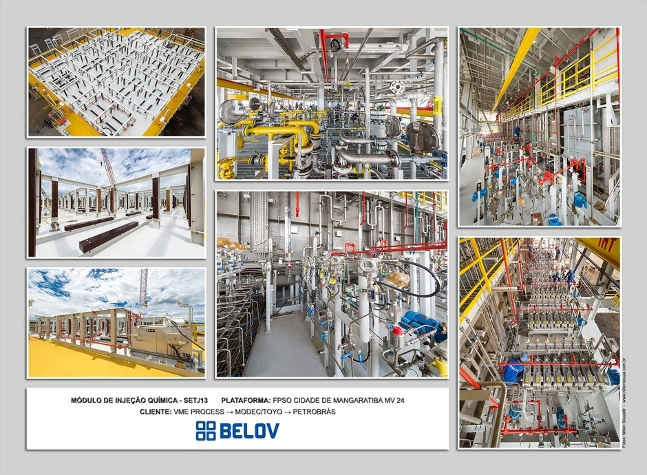 Heavy Construction and Assembly - FPSO Modules - Belov