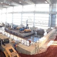 Berços de Atracação - Execução - Obras Portuárias Belov