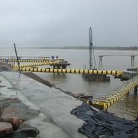 Dolfins de atracação para navios - Obras Portuárias Belov