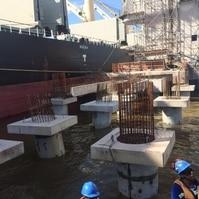 Construção de dolfins para navios- Obras Portuárias Belov