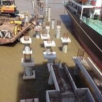 Construção de dolfins