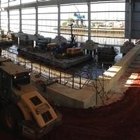 Constução de Berços de Atracação - Obras Portuárias Belov