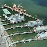 Terminal para termoletrica flutuante - Obras Portuárias Belov
