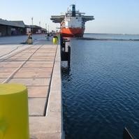 Cais dinamarques em estaca secante - Obras Portuárias Belov