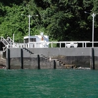 Atracadouro em caixão flutuante - Obras Portuárias Belov