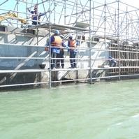 Recuperação de Estrutural de Pier - Obras Portuárias Belov