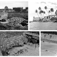 Fortaleza Histórica de Morro de São Paulo em ruinas - Obras Portuárias Belov