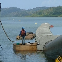 Emissário Submarino em Salvador-BA - Obras Civis Subaquáticas Belov