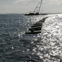 Emissário Submarino na Ilha de Itaparica - BA - Obras Civis Subaquáticas Belov