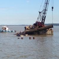 Remoção de Emissário Submarino Antigo - Obras Civis Subaquáticas Belov
