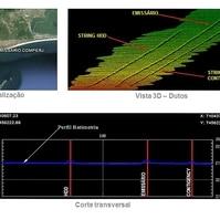 Mapeamento de dutos - COMPERJ - Serviços Hidrográficos Belov