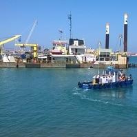 Batimetria Multifeixe NFX - Porto de Açu - RJ - Serviços Hidrográficos Belov
