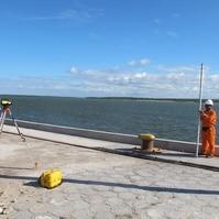 Nivelamento RN - Estação Maregráfica de Cabedelo - PB - Estação Maregráfica de Cabedelo - PB - Serviços Hidrográficos Belov