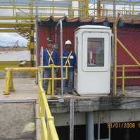 Reocupação Estação Maregráfica de Barra do Riacho - ES - Belov