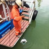 Coleta de Água - Garrafa de Van Dorn - Serviços Hidrográficos Belov