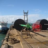 Transporte de Boia Articulada - Sinalização Náutica Belov