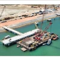 Teminal Portuário NFX - Obras Portuárias Belov