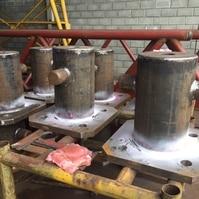 Fabricação de Cabeços de Amarração – Obra CMPC (RS) - Belov