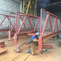 Fabricação de Passarelas de Acesso – Obra CMPC (RS) - Belov