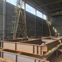 Fabricação de Ponte de Acesso – Obra NFX (RJ) - Belov