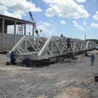 Montagem da Superestrutura - Ponte Ferroviária do Lobato (BA) - Belov