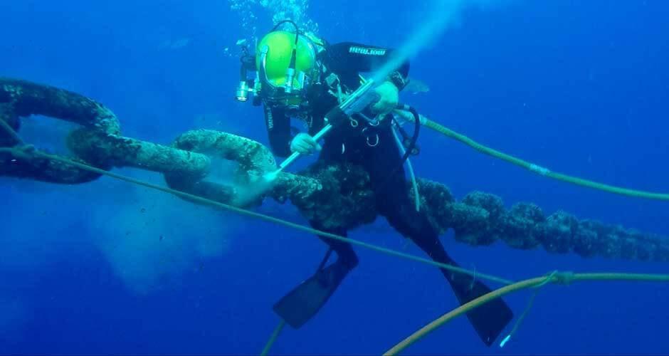 Manutenção de Terminais Oceânicos
