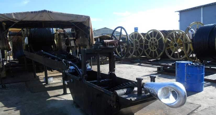 Manutenção de Cabos de Aço