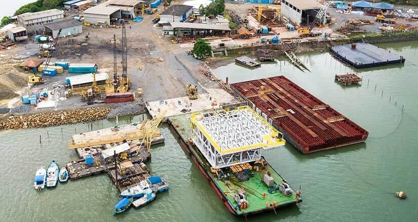 Construção de Módulos para Plataformas Offshore