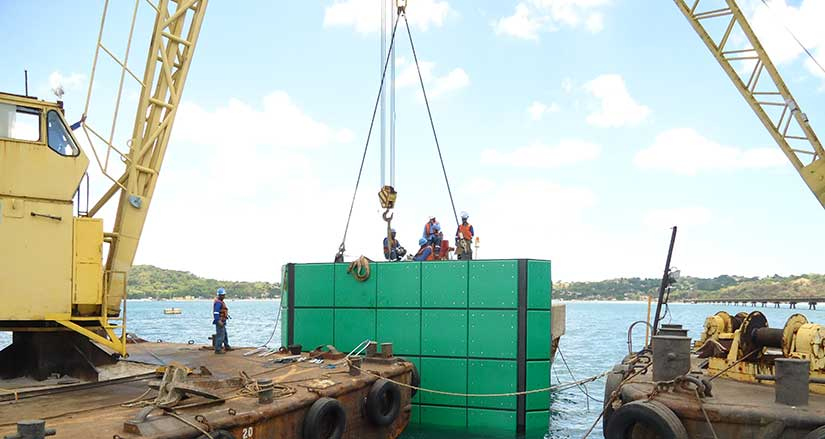 Assembly Of Mechanical and Civil Structures for Ports