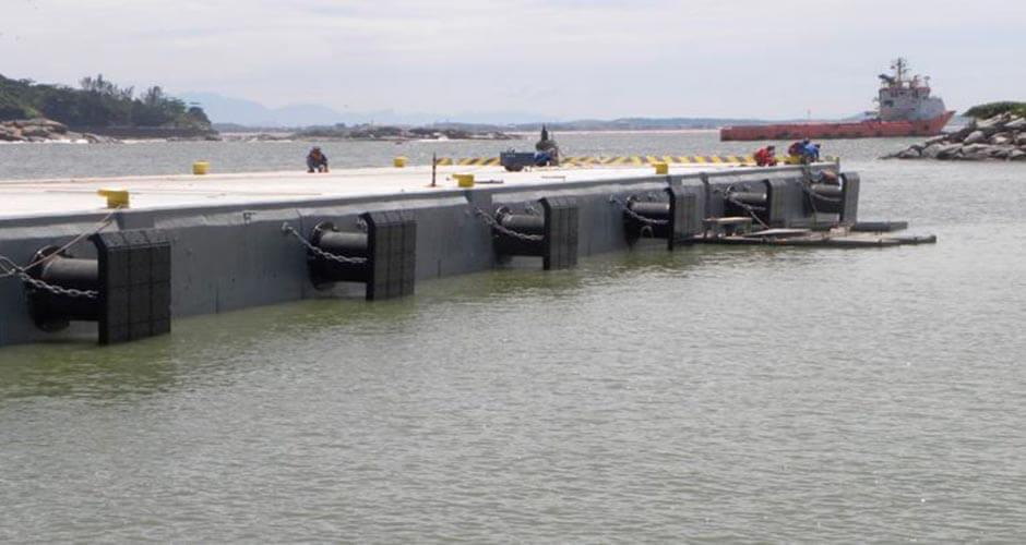 Recuperación y Refuerzos Estructurales de Puertos